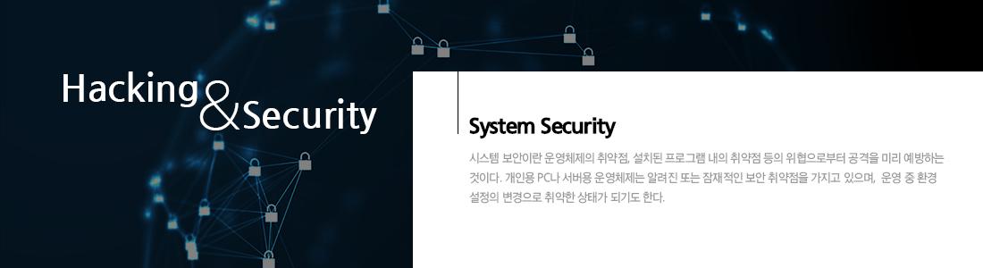 시스템 해킹 & 보안